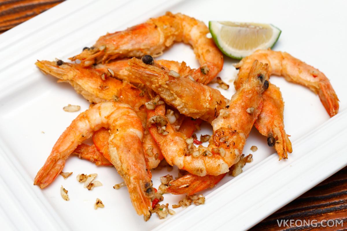 Le Ble d'Or Beer Flavored Stir Fried Shrimps