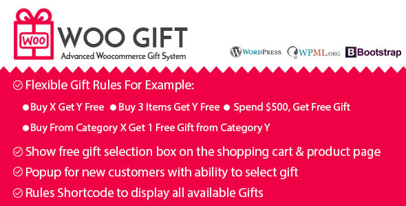 Woo Gift v3.5 – Advanced Woocommerce Gift Plugin