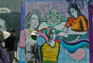 Mural in the City - Clarion Alley Women