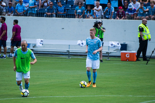 David Silva and Kevin de Bruyne