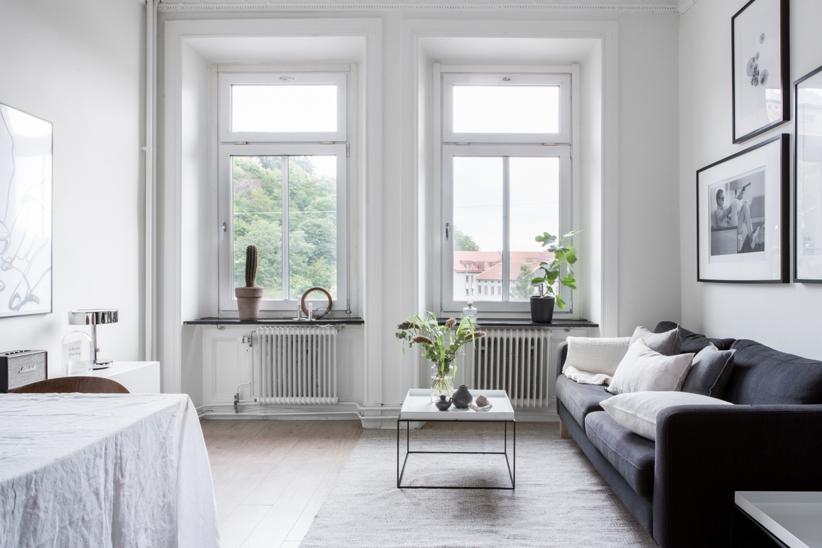 Minimalist Scandinavian Apartment Design