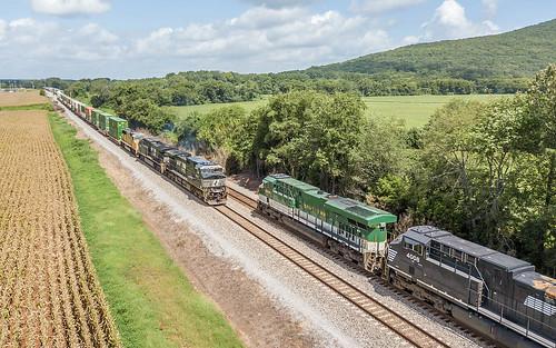 NS Train's 202 & 201