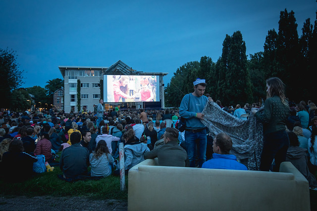 AID day 3: sportsday and open air movie