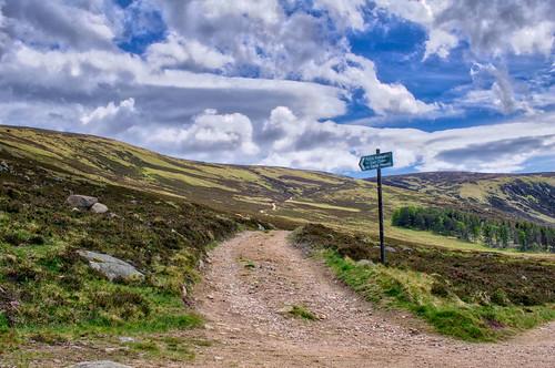 Capel Mounth Path