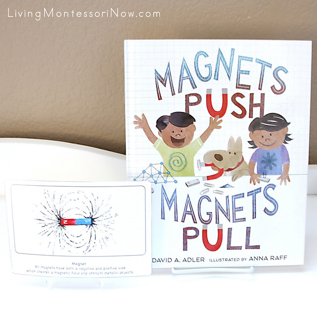 Magnet Culture Card with Magnets Push, Magnets Pull Book