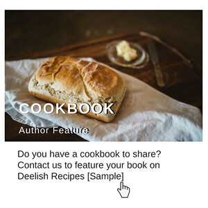 cookbook author feature