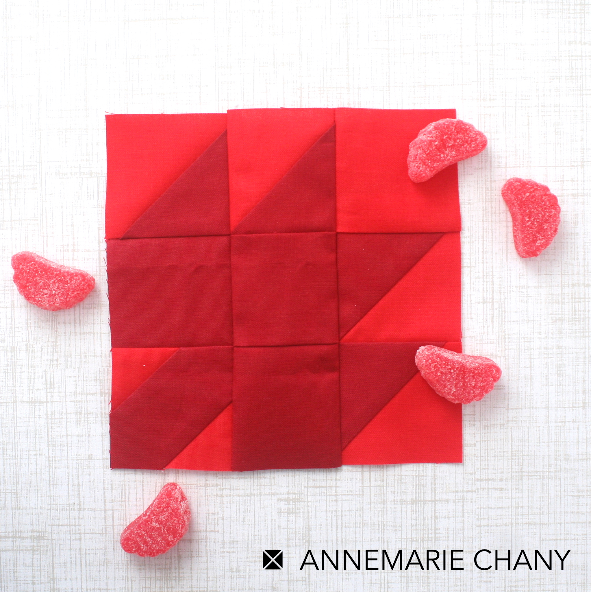Chocolatier Block of the Month Quilt by AnneMarie Chany Maple Leaf Quilt Block