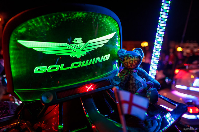 Llandudno Goldwing Light Parade 2017