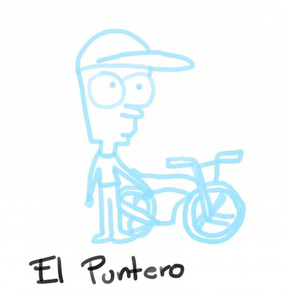 El Puntero by Mel Escárcega