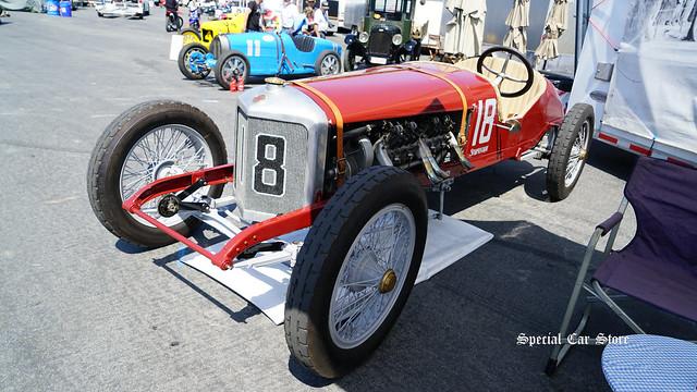 1916 Sturtevant Romano Special at Rolex Monterey Motorsports Reunion at the Mazda Raceway Laguna Seca 2017