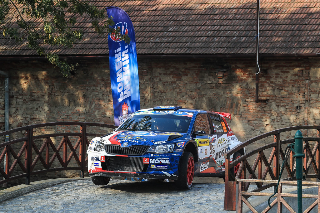 18 CERNY Jan (CZE) CERNOHORSKI Petr (CZE) Skoda Fabia R5 action during the 2017 European Rally Championship ERC Barum rally,  from August 25 to 27, at Zlin, Czech Republic - Photo Jorge Cunha / DPPI