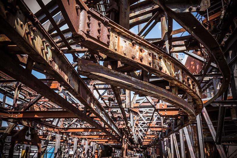 Unesco world cultural heritage - Völklingen Ironwork // Vôlkilngen - ancien site siderurgique classé au patrimoine modial de l'Unesco