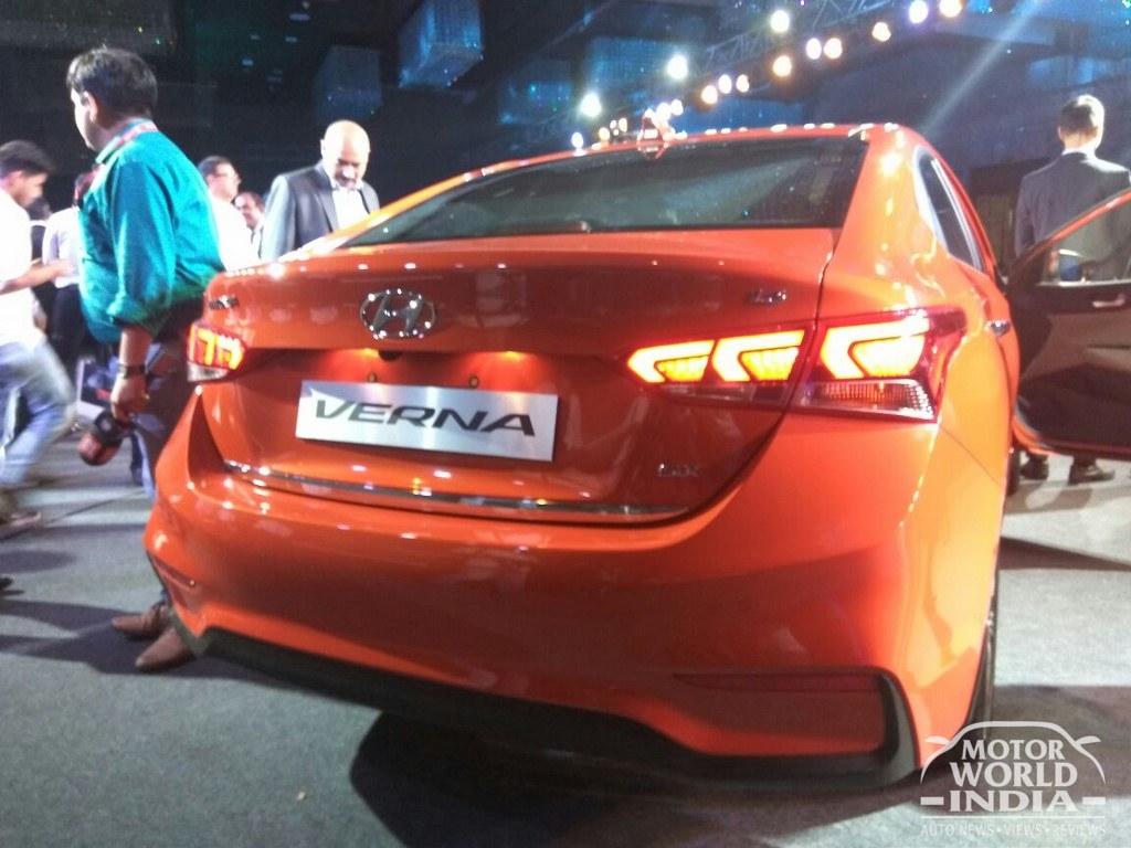 Live 2017 Hyundai Verna Launched At Rs 799 Lakhsmotorworldindia