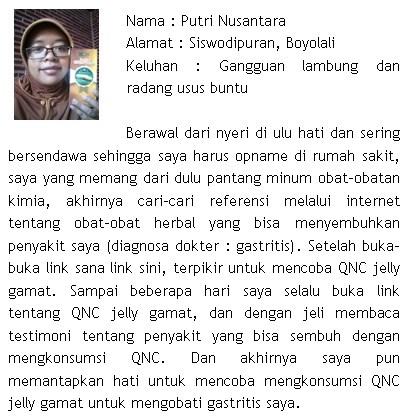 Khasiat Qnc Jelly Gamat Untuk Radang Usus Buntu