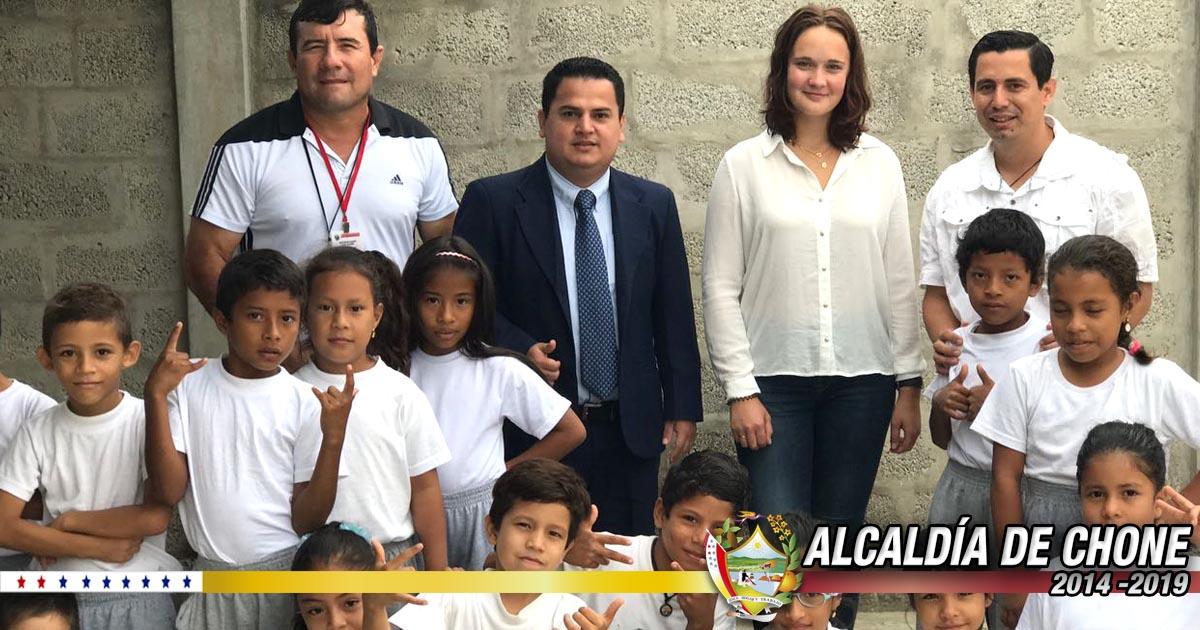 Alcaldía renovó la cooperación con la Ong EIL