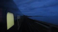 Passing Dawlish at Dusk On GWR HST 2017/09/09