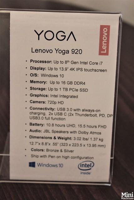 IFA 2017 - Lenovo Yoga 920 - 0