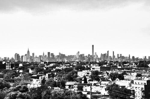 bw blackandwhite monochrome highrise manhattan newyorkcity newyork nyc urban skyline