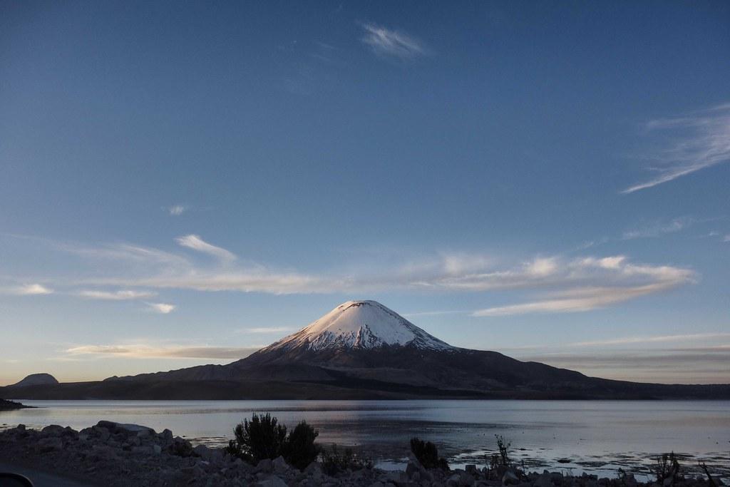 Volcan Parinacota - Lac Chungara