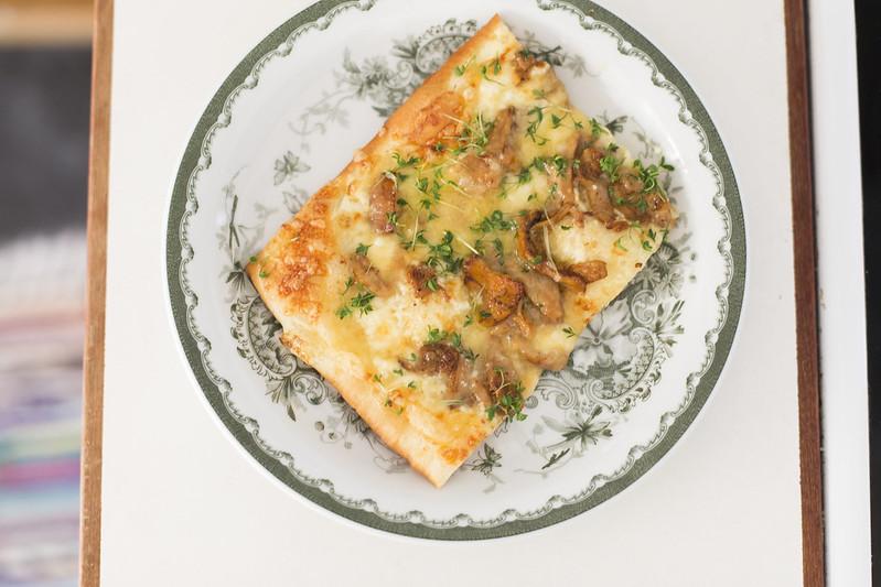 kantarellpizza