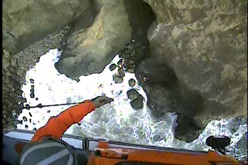Coast Guard rescues 2 at Mussel Rock