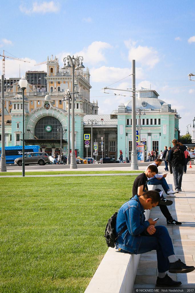 Площадь у Белорусского вокзала просто не узнать! IMG_4226