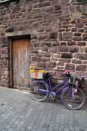 Bike and Door (threejumps)