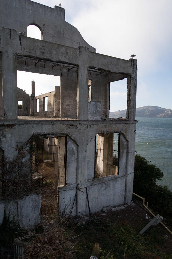 Exterior of Alcatraz