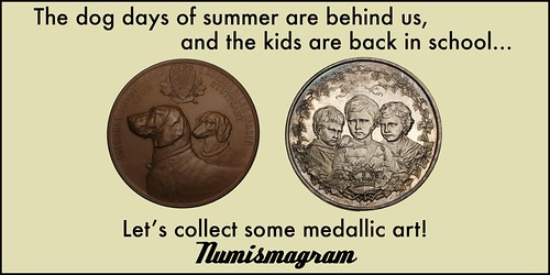 E-Sylum Numismagram ad05 Dog Days