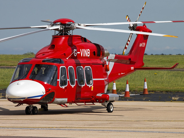 Babcock Mission Critical Services Offshore | AgustaWestland AW139 | G-VINB