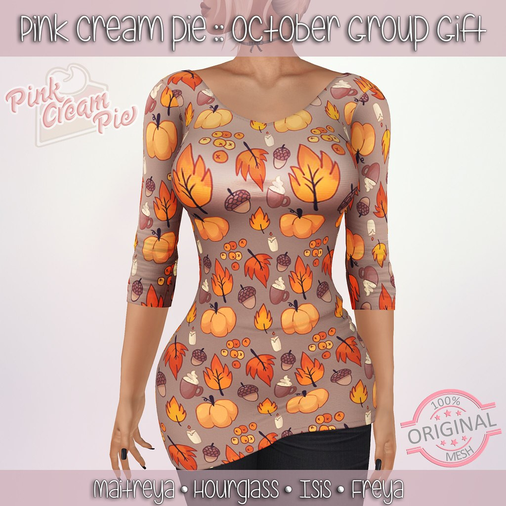 October Group Gift :: Pink Cream Pie