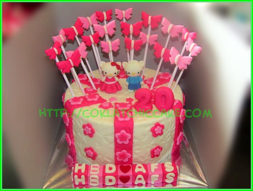 Cake Hello Kitty AFS Jual Kue Ulang Tahun