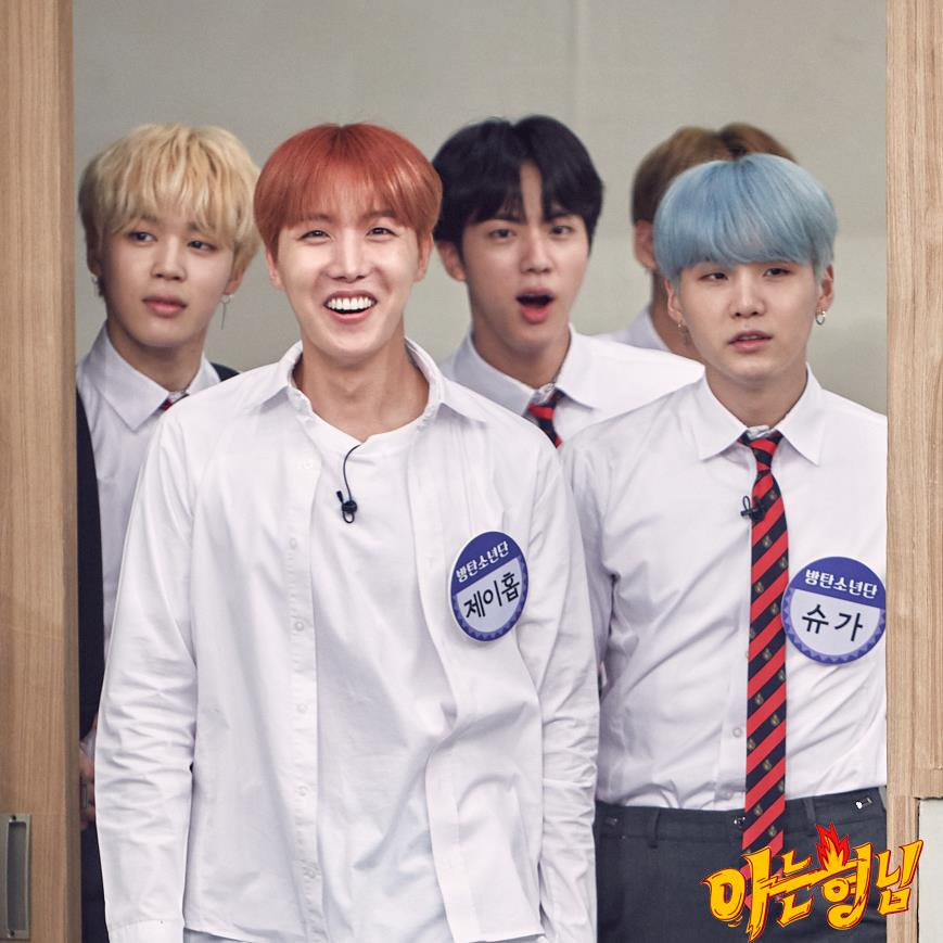 [Picture] BTS at Knowing Bros [170819]