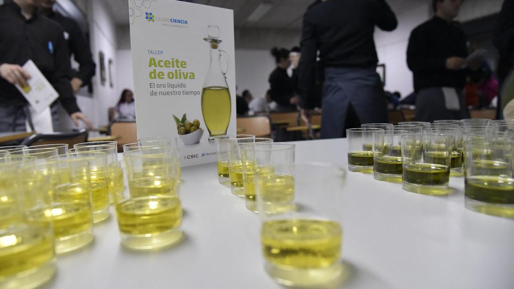 Un taller sobre el aceite de oliva, con cata incluida, llega a Coria