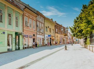 Street in Novi Sad