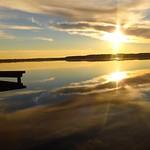 Photos des lecteurs | Après midi d'automne - Tombé du jour sur le lac d'Azur