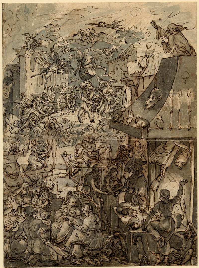 Frans Francken the Younger - A Witches  Sabbath
