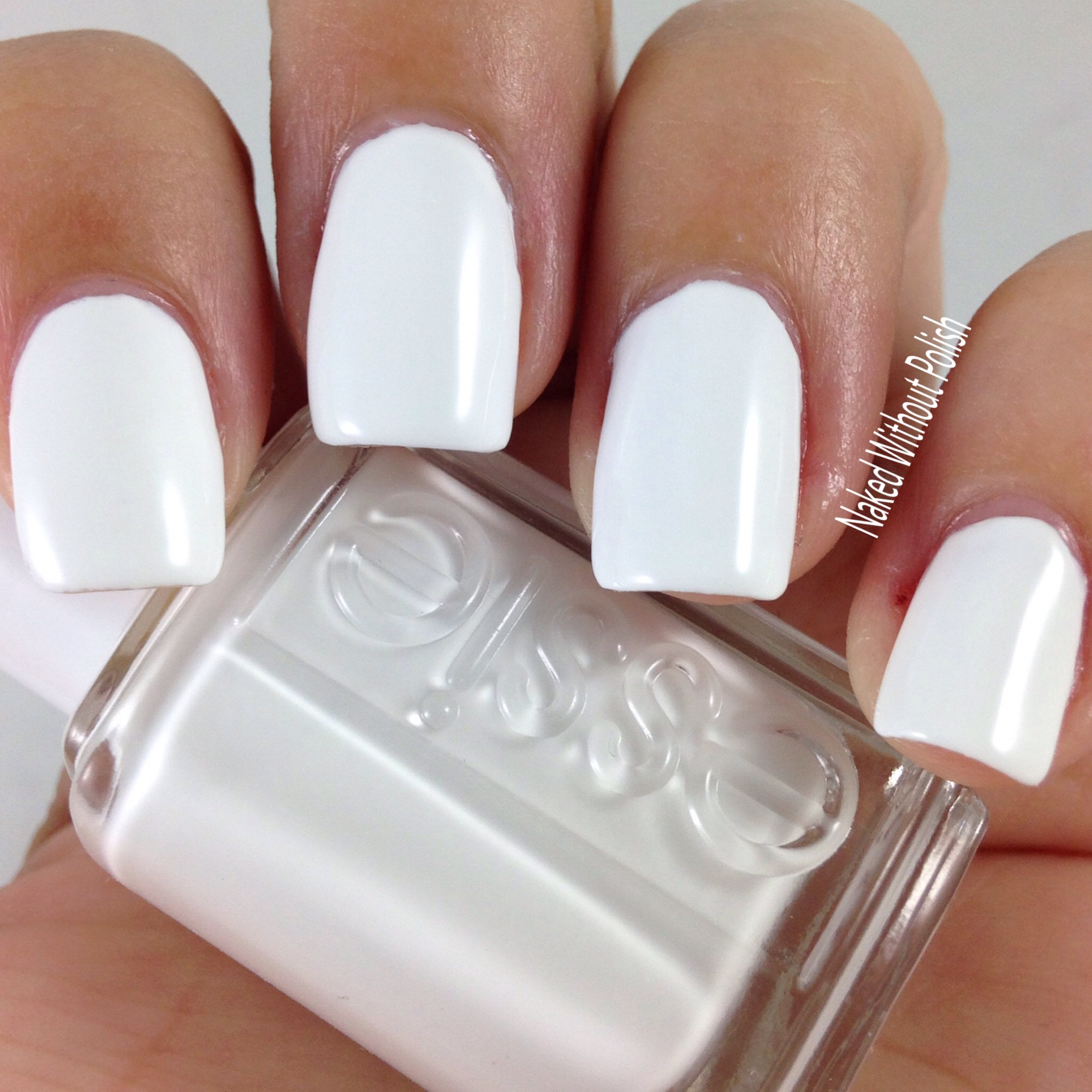 Essie Core Colors Swatch and Review - Naked Without Polish