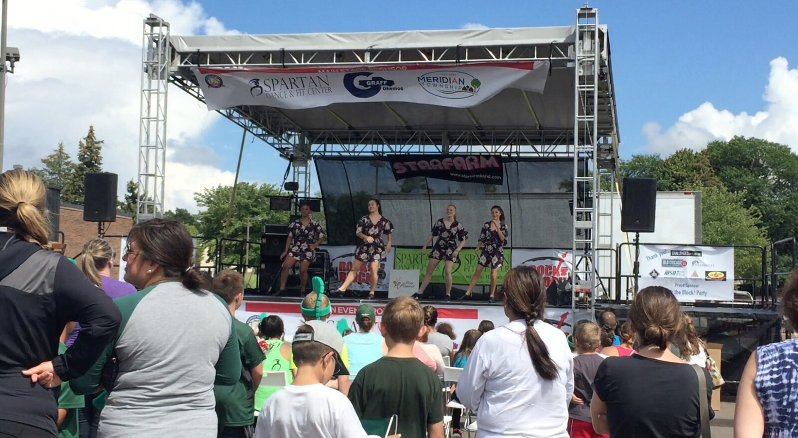 Spartan Dance and Fit Center Hosts 'Rock the Block' Event