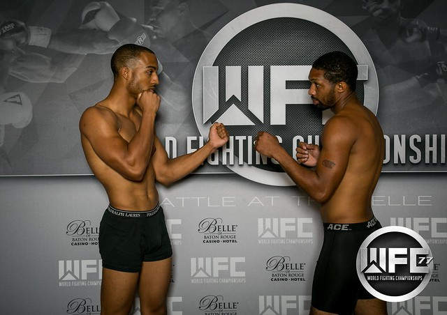 WFC 77 Weigh-Ins at the Belle Of Baton Rouge 8/18/17