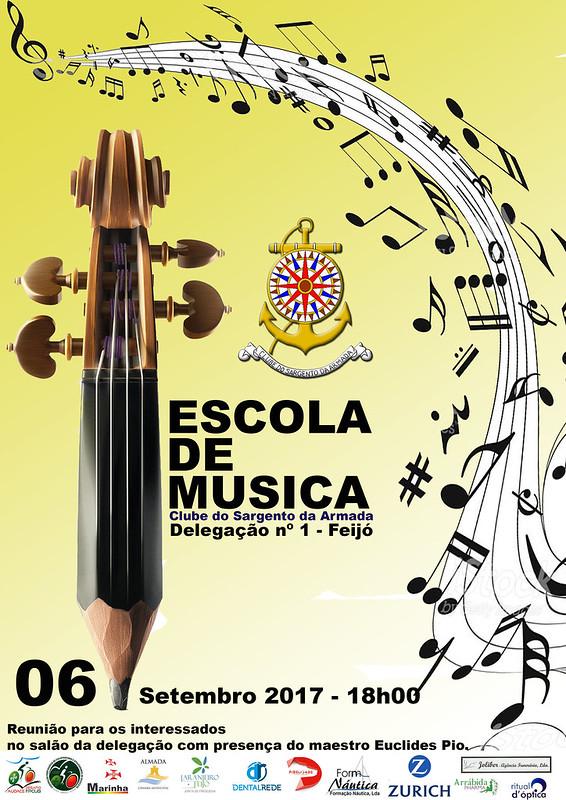 Cartaz Escola de Musica