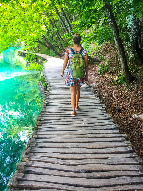Easy Walking Paths In Plitvice Lakes
