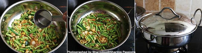 How to make Achinga payar mezhukkupuratti recipe - Step2
