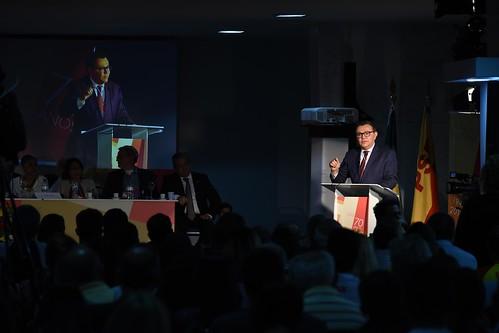 Abertura e conferência magna do seminário pela passagem dos 70 anos do PSB