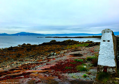 Scotland West Highlands Argyll the view west from Toward lighthouse 22 August 2017 by Anne MacKay
