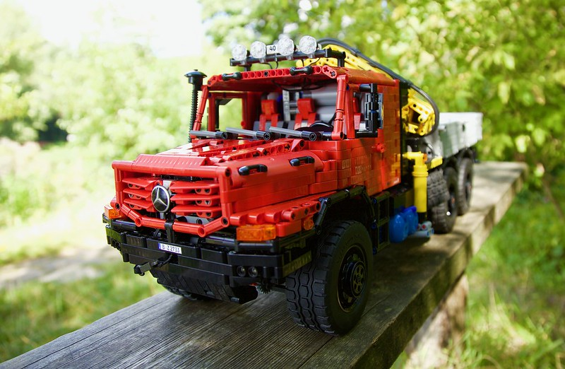Mercedes Zetros 2733 - 6x6 - Full RC - Lego Technic MOC
