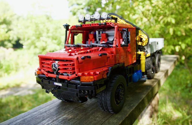 Mercedes Zetros 2733 - 6x6 - Full RC - Lego Technic MOC