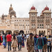 Mysore Palace crowd
