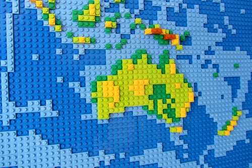 dirks LEGO world map 11 australia