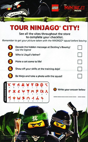 The LEGO Ninjago Movie Alphabet